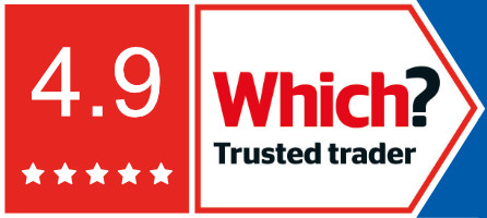 Which trusted trader - rated 4.9 stars